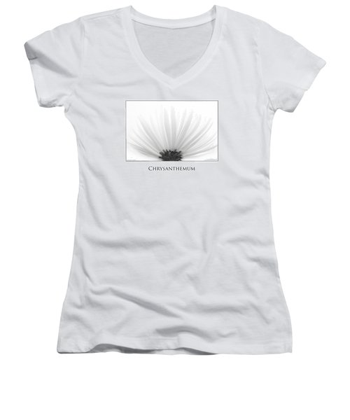 Chrysanthemum Women's V-Neck