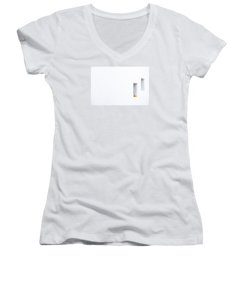 Citrus Simplicity Women's V-Neck T-Shirt