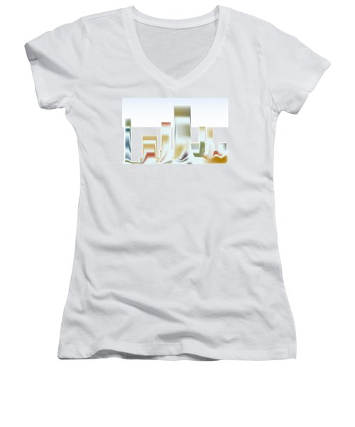 City Mesa Women's V-Neck T-Shirt