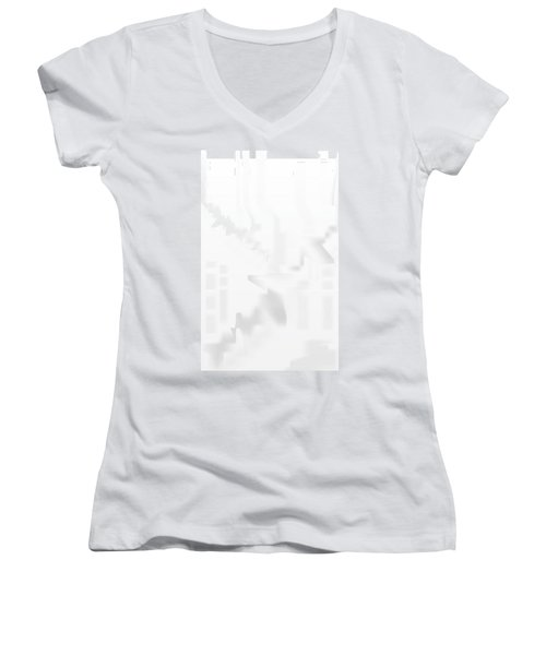 City Stair Women's V-Neck T-Shirt