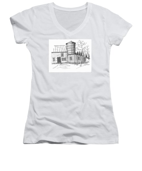Clermont Barn 1 Women's V-Neck
