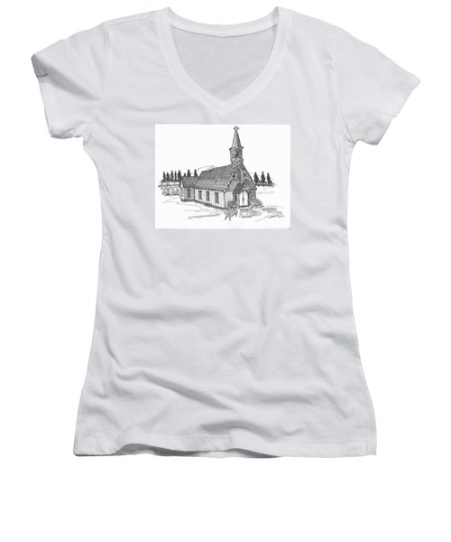 Clermont Chapel Women's V-Neck