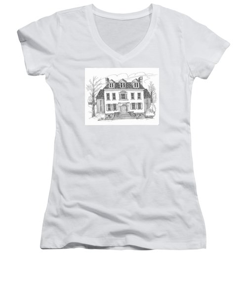 Clermont Historic Site Women's V-Neck