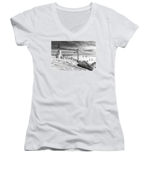 Cloud Lift Women's V-Neck T-Shirt