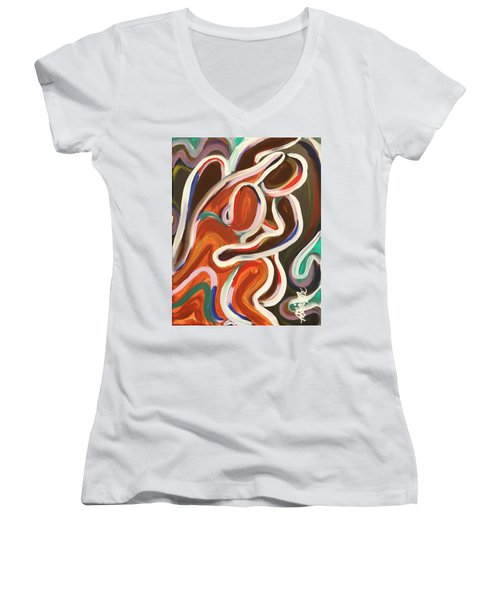 Colorful Evenings Women's V-Neck