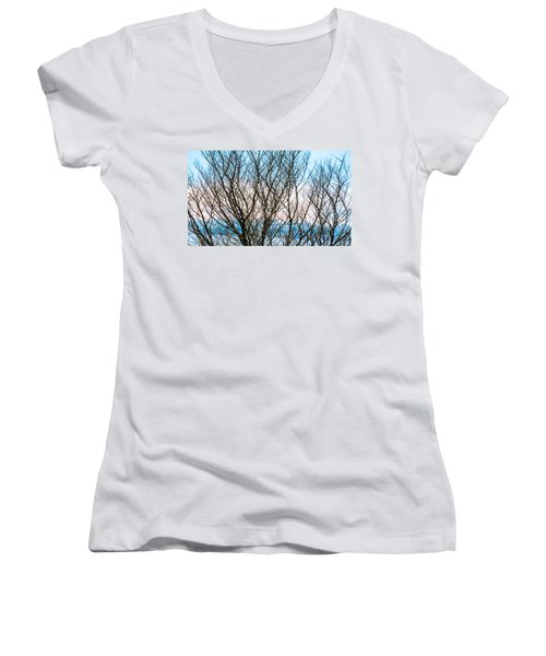 Colorful Maze  Women's V-Neck T-Shirt
