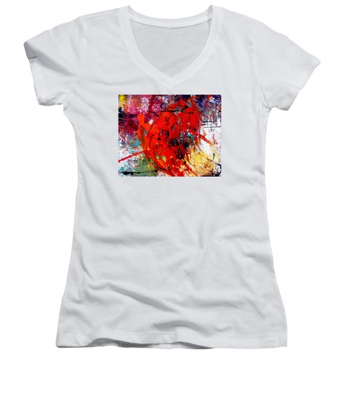 Coming And Goings Women's V-Neck T-Shirt