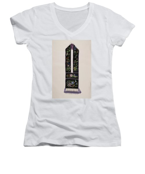 Community Bandolier Bag 2013 Women's V-Neck T-Shirt