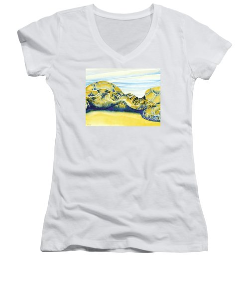 Companions Women's V-Neck (Athletic Fit)