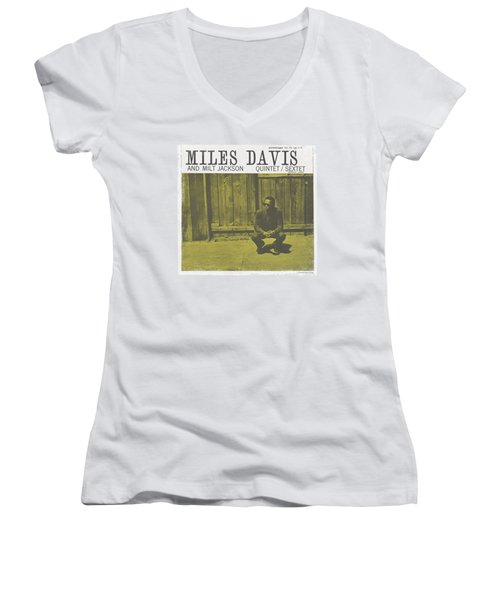 Concord Music - Miles And Milt Women's V-Neck (Athletic Fit)
