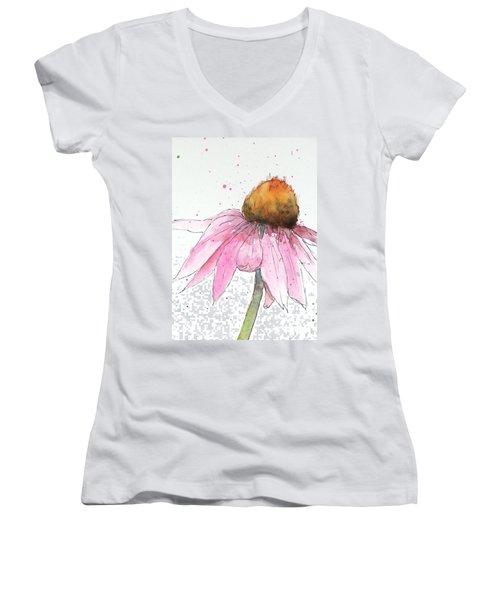 Coneflower 1 Women's V-Neck T-Shirt