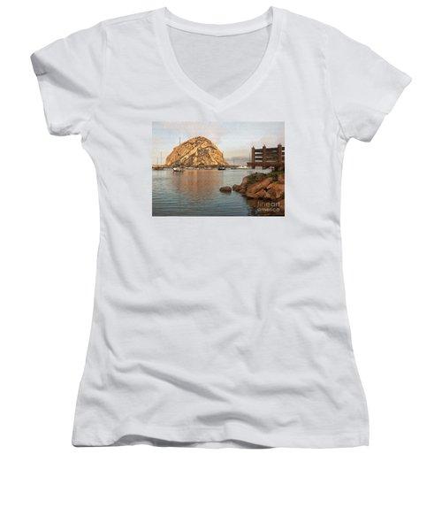Corner Harbor Women's V-Neck T-Shirt