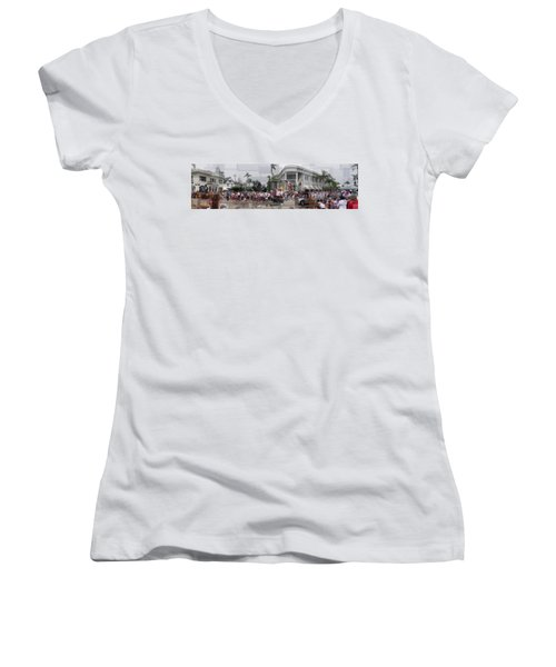 Coronado Fourth Of July Parade Women's V-Neck (Athletic Fit)