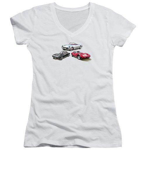 Corvette Generation Women's V-Neck