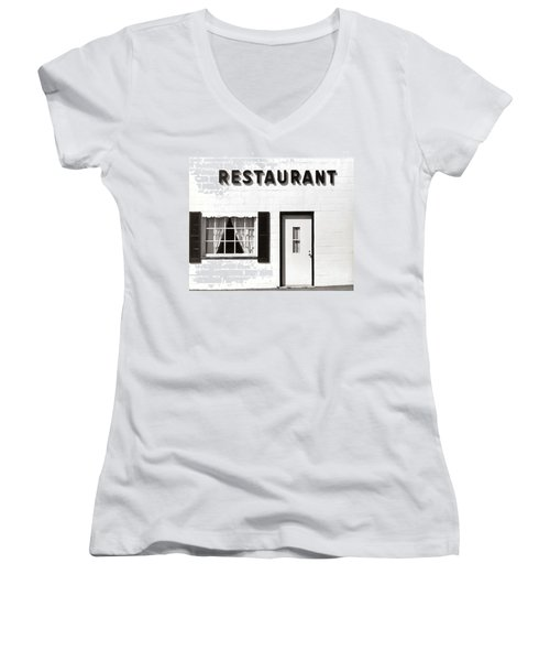 Country Restaurant Women's V-Neck