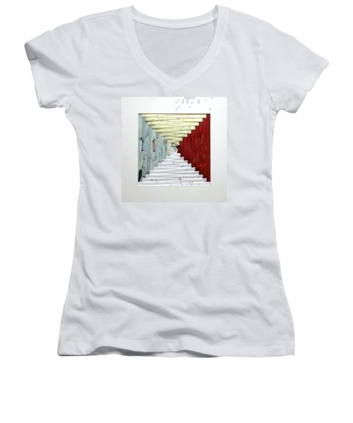 Crooked Staircase Women's V-Neck T-Shirt