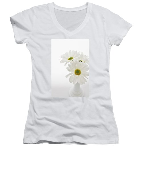 Daisies For You Women's V-Neck T-Shirt