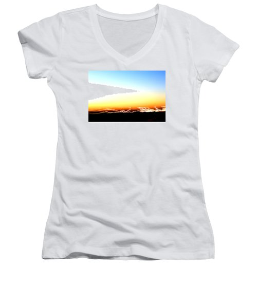Dancing In The Sunlight Women's V-Neck T-Shirt