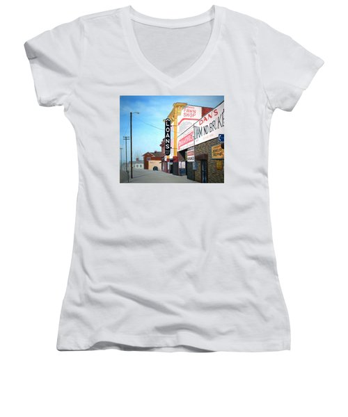 Dan's Women's V-Neck T-Shirt