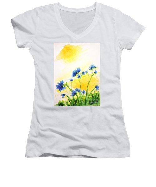 Daring Dream Women's V-Neck T-Shirt