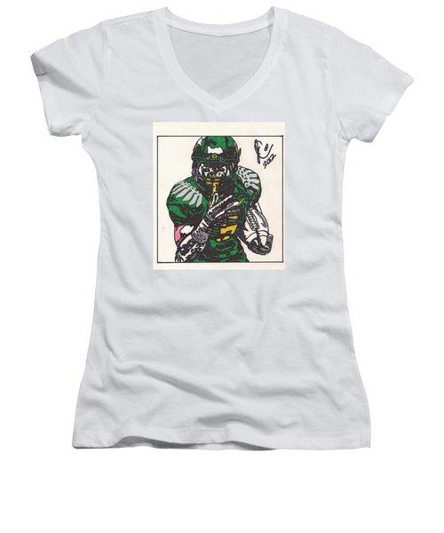 De'anthony Thomas Women's V-Neck T-Shirt
