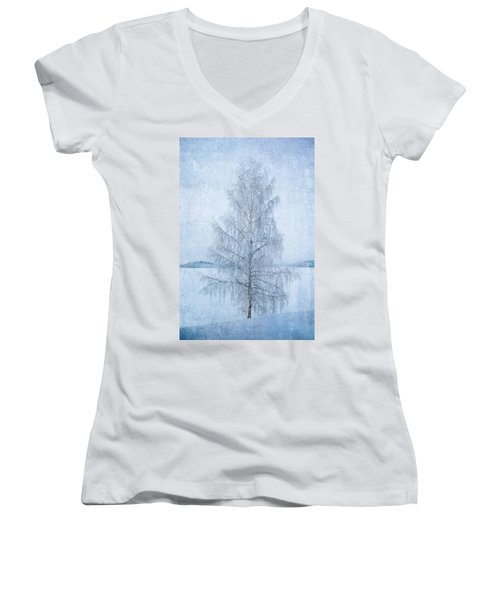 December Birch Women's V-Neck