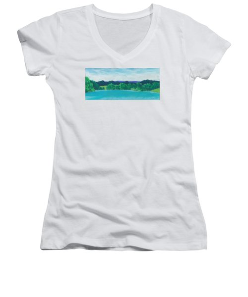 Deep Breath Women's V-Neck