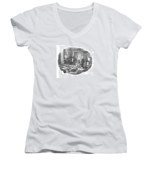 Dial Weather 6-1212 Women's V-Neck