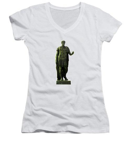 Dictator Julius Caesar Women's V-Neck