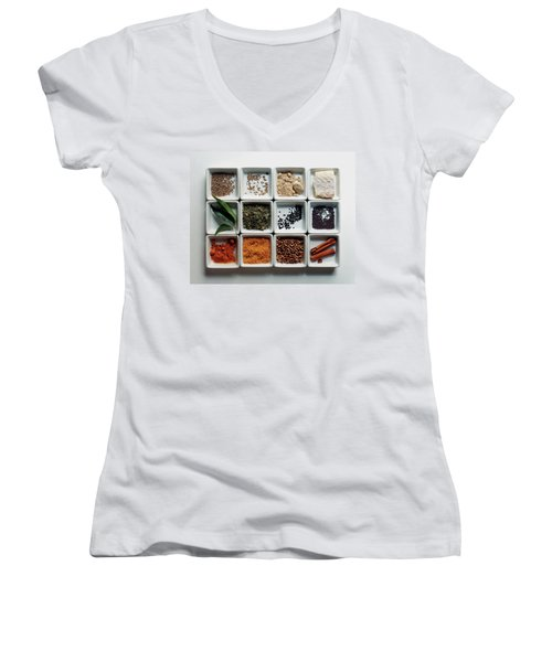 Dishes Of Spices Women's V-Neck