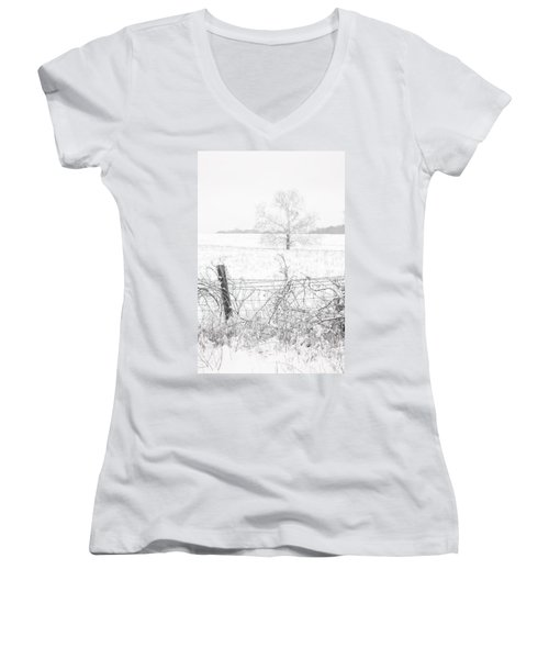 Distant Tree Women's V-Neck T-Shirt