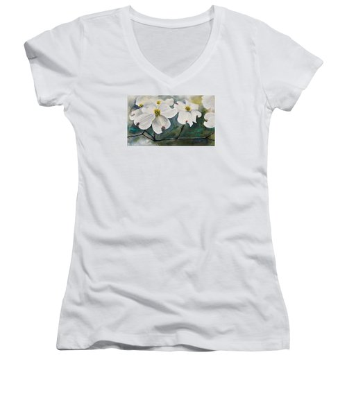 Dogwood 7 Women's V-Neck (Athletic Fit)