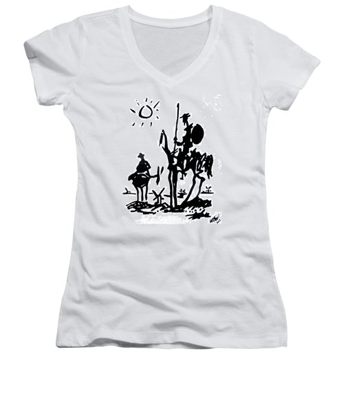 Don Quixote Women's V-Neck (Athletic Fit)