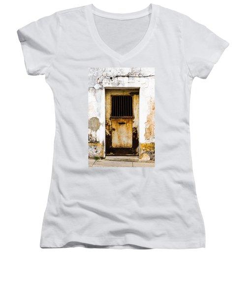 Door No 48 Women's V-Neck T-Shirt