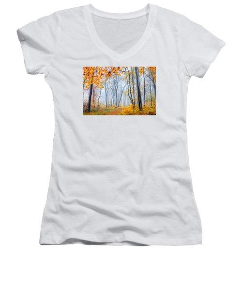 Dream Forest Women's V-Neck