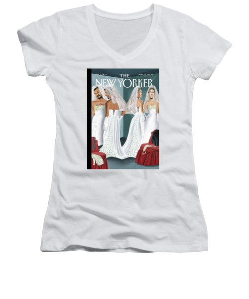 Dress Reversal Women's V-Neck