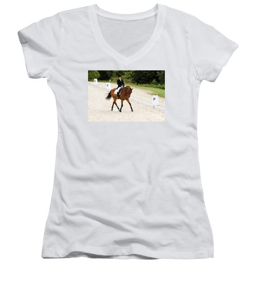 Dressage Test Women's V-Neck