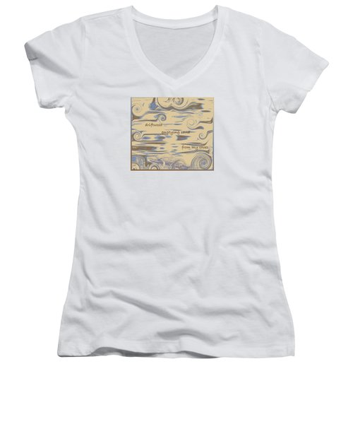 Driftwood Haiga Women's V-Neck