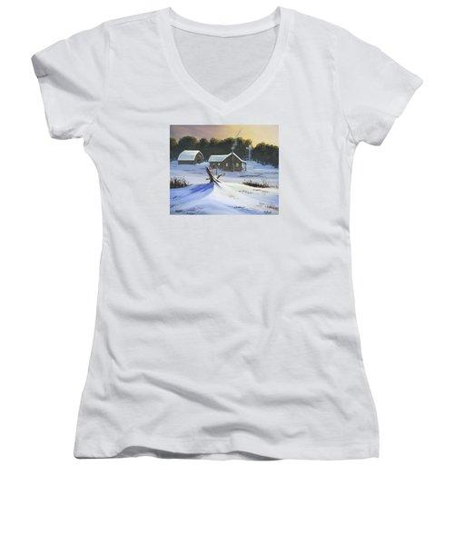 Early Snow Women's V-Neck T-Shirt