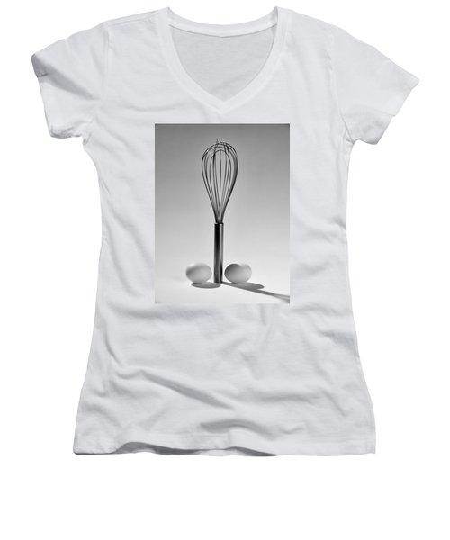 Egg Beater Women's V-Neck T-Shirt