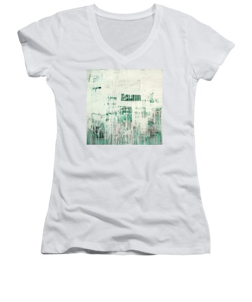 Emerald Surge C2014 Women's V-Neck T-Shirt