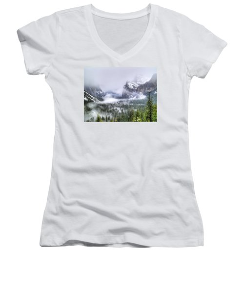 Enchanted Valley Women's V-Neck (Athletic Fit)