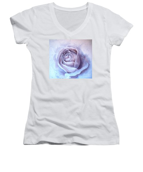 Ethereal Rose Women's V-Neck T-Shirt