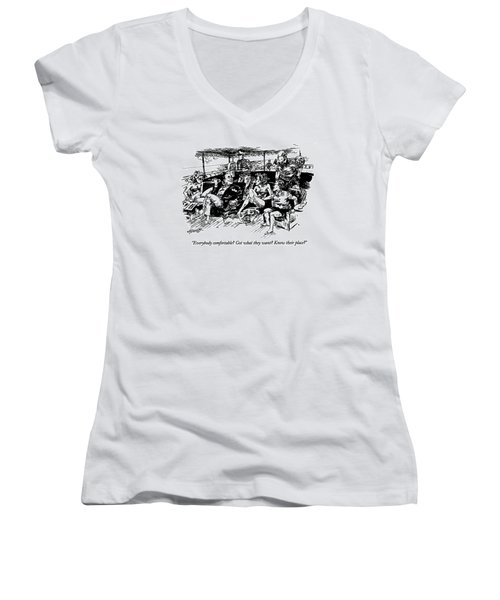 Everybody Comfortable? Got What They Want? Know Women's V-Neck