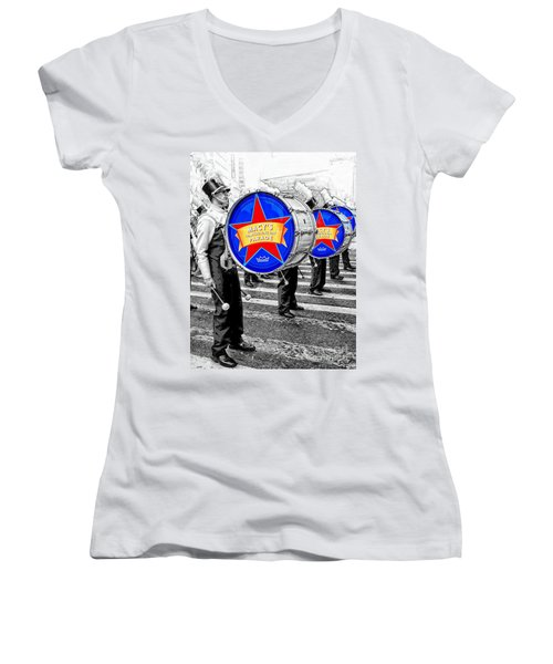 Everyone Loves A Parade Women's V-Neck (Athletic Fit)