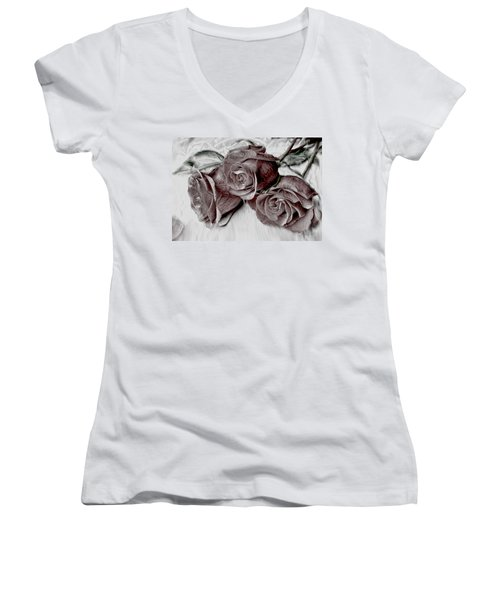 Faded Love Women's V-Neck (Athletic Fit)
