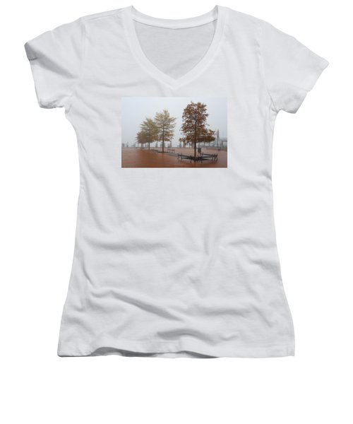 Fall Fog Women's V-Neck T-Shirt