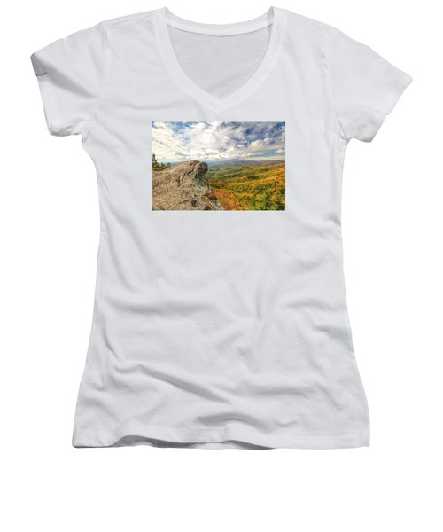 Fall From The Blowing Rock Women's V-Neck