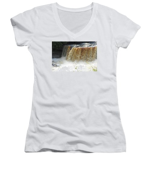Falls Women's V-Neck T-Shirt
