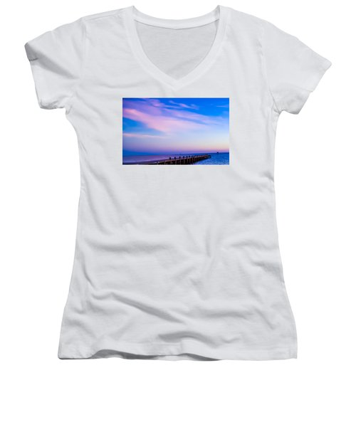 Fantasy Pier Women's V-Neck